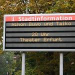 Erfurt ist vorbereitet