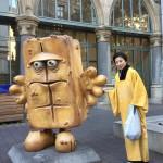 Begrüßung durch Bernd das Brot