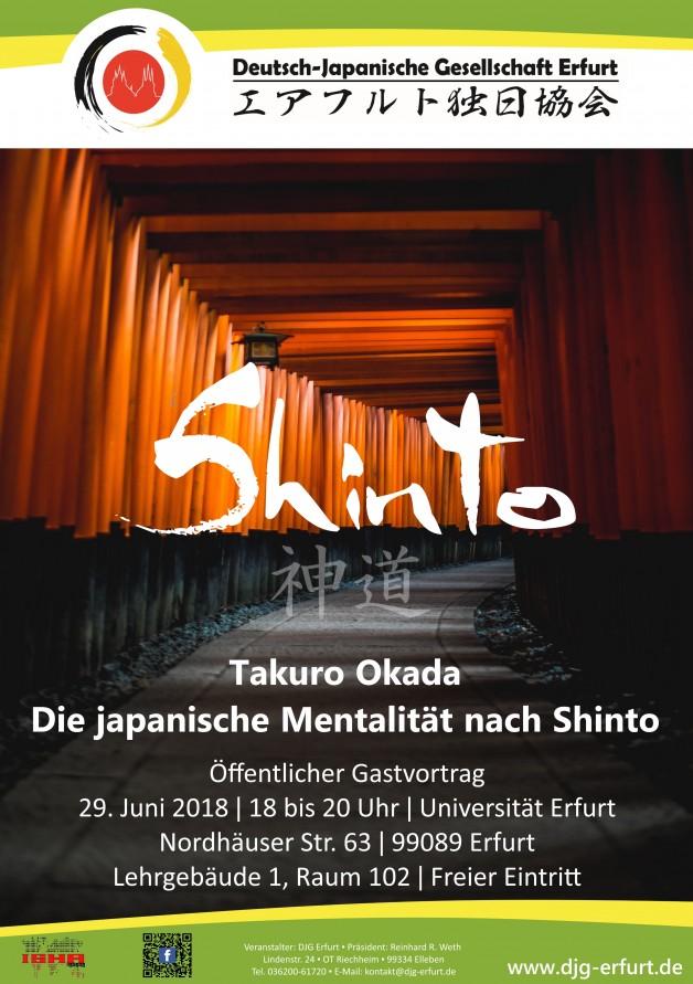 """""""Die japanische Mentalität nach SHINTO"""" – Die Ur-Religion des Landes der aufgehenden Sonne und ihre Bedeutung gestern und heute"""